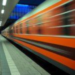 Dziewiczy odjazd pociągu Locomore z Heidelbergu, grudzień 2016. Fot. Radosław Drożdżewski, lic. CC BY-SA 4.0